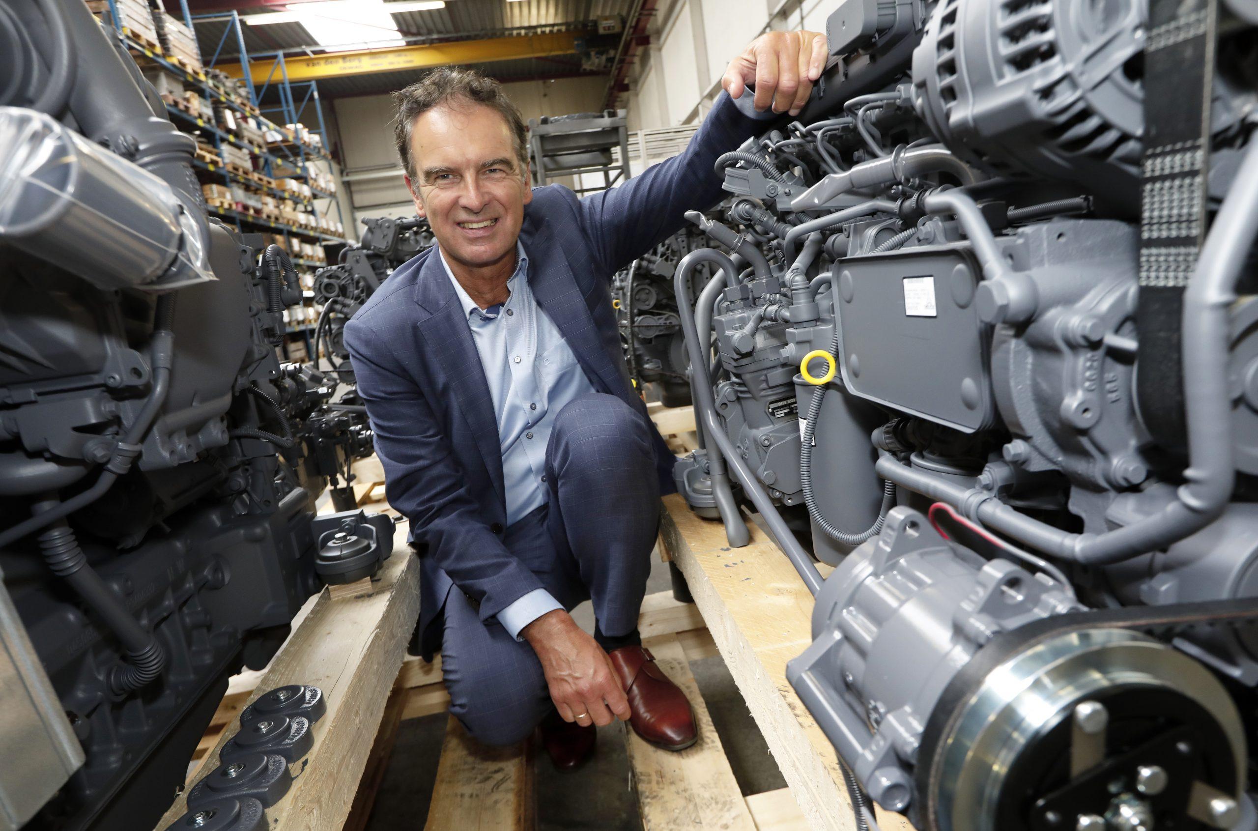 Marc Bolier is algemeen directeur bij Krinkels BV